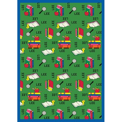 Joy Carpets Just for Kids Bookworm Spanish Kids Rug