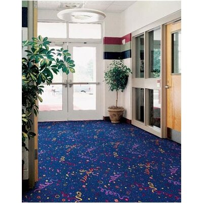 Joy Carpets Whimsy Party Time Novelty Rug