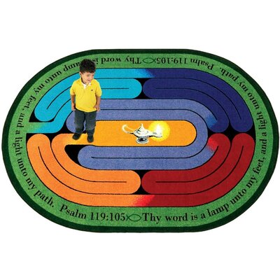 Joy Carpets Faith Based Pathway of Light Kids Rug