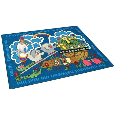 Joy Carpets Faith Based Rainbow's Promise Kids Rug