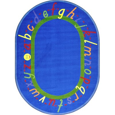 Joy Carpets Educational AlphaScript Kids Rug