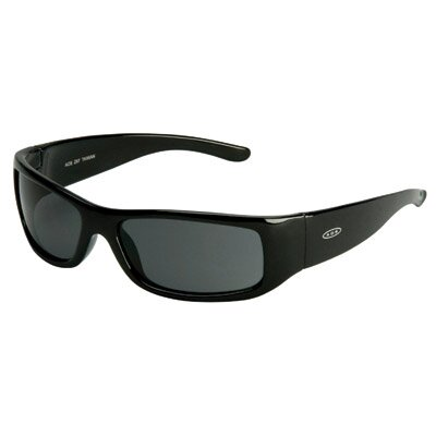 Aearo Technologies Moon Dawg Safety Glasses With Black Frame And Gray Anti-Fog Lens