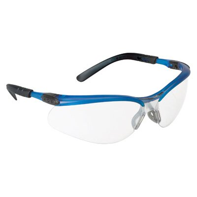 Aearo Technologies Safety Glasses With Ocean Blue Frame And Indoor/Outdoor Mirror Lens (10 Per Box)