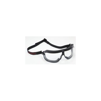 Aearo Technologies Fectoggles™ Dust And Impact Goggles With Black Foam Lined Frame, Clear Fectroid® Duralite® Anti-Fog, Hard Coat Lens AndElastic Band Lens And Elastic Band