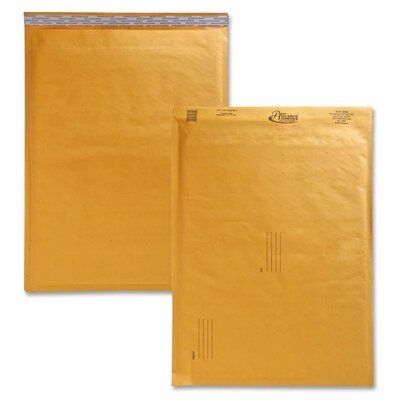 "Alliance Rubber Envelopes,No. 7,Bubble Cushioned,14-1/4""x20"""