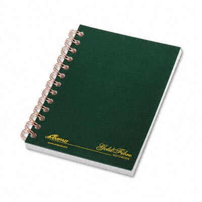 AMPAD Corporation Gold Fibre Personal Notebook, College/Med Rule, 5 X 7, 100 Sheets