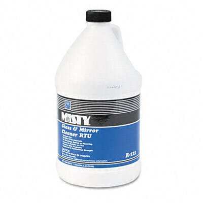 AmRep Misty Glass & Mirror Cleaner with Ammonia, 1 Gal. Bottle