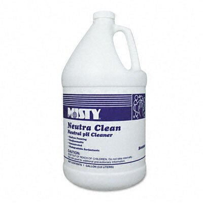 AmRep Misty Neutra Clean Floor Cleaner, Fresh Scent, 1 Gal. Bottle, 4/Carton