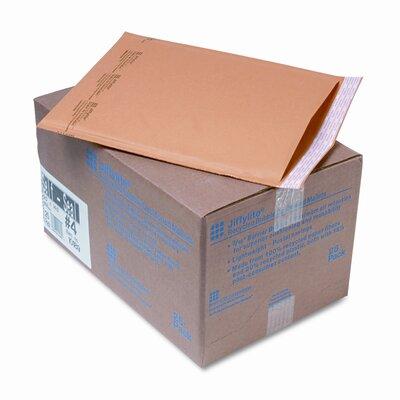 Sealed Air Corporation Jiffylite Self-Seal Mailer, Side Seam, #4, Golden Brown, 25/carton