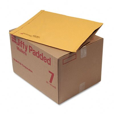 Sealed Air Corporation Jiffy Padded Mailer, Side Seam, #7, 50/Carton