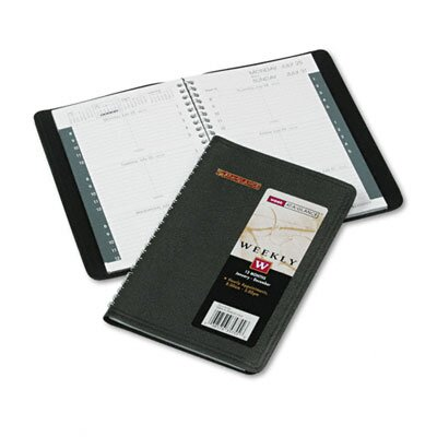 At-A-Glance Weekly Appointment Book, 4-7/8 x 8, Black, 2014