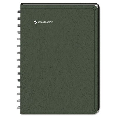 At-A-Glance LifeLinks Professional Weekly/Monthly Planner, 9-1/2 x 11-3/4, Green, 2014