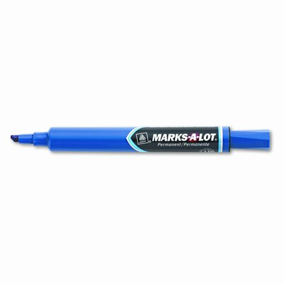 Avery Consumer Products Marks-A-Lot Permanent Marker, Large Chisel Tip