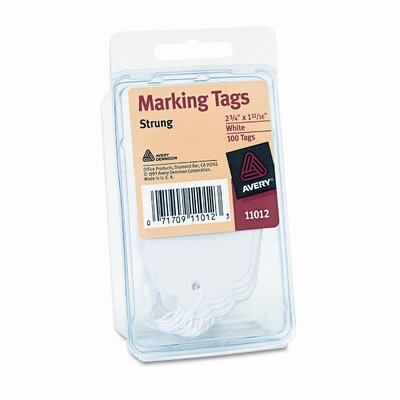 Avery Consumer Products Marking Tags, 2 3/4 X 1 11/16 (100/Pack)