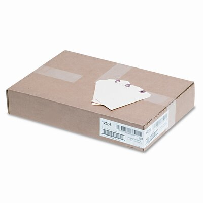 Avery Consumer Products Paper Shipping Tags, 5 1/4 X 2 5/8 (1,000/Box)