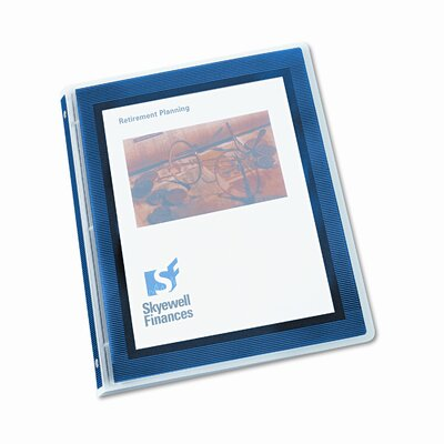 "Avery Consumer Products Flexi-View Round-Ring Presentation View Binder, 1/2"" Capacity"
