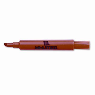 Avery Consumer Products Hi-Liter Desk Style Highlighter, Chisel Tip, 12/Pack