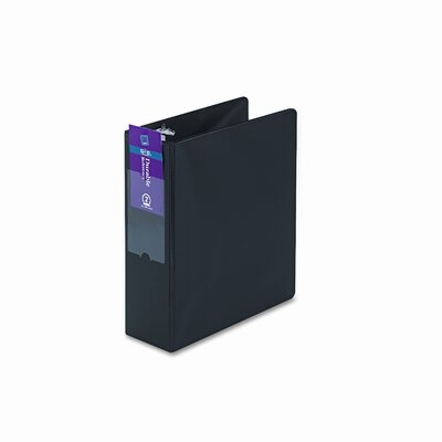 "Avery Consumer Products Durable Ez-Turn Ring Reference Binder with Label Holder, 2"" Capacity"