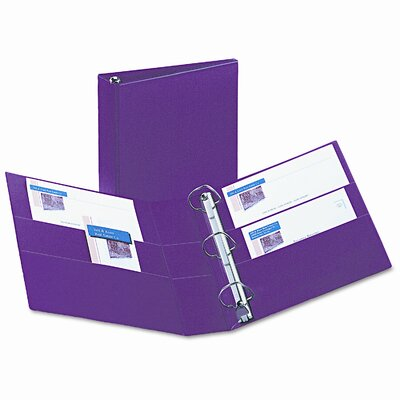 Avery Consumer Products Heavy-Duty Vinyl EZD Ring Reference Binder, 2in Capacity