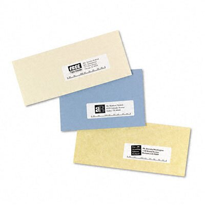 Avery Consumer Products Easy Peel Laser Address Labels, 1400/Box