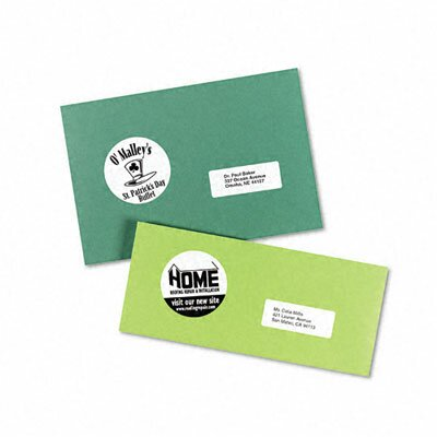 Avery Consumer Products High-Visibility Round Laser Labels, 300/Pack