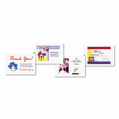 Avery Consumer Products Laser Postcards, 200/Box
