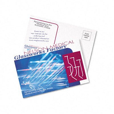 Avery Consumer Products Postcards for Color Laser Printing, 80/Pack