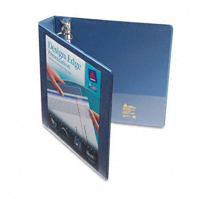 Avery Consumer Products Design Edge Presentation View Binder, 1-1/2in Capacity, White