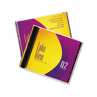 Avery Consumer Products Inkjet CD/DVD Jewel Case Inserts (20/Pack)