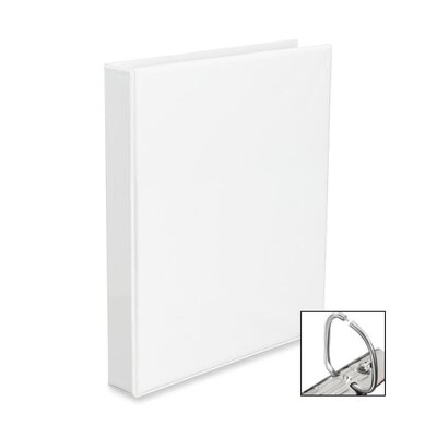 "Avery Consumer Products EZD Nonstick View Binder, 1"" Capacity, 8-1/2""x11"", White"