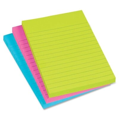 Avery Consumer Products Removable Adhesive Sticky Note (Pack of 3)