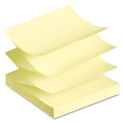 Avery Consumer Products Recycled Fanfold Sticky Note (Pack of 12)