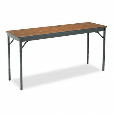BARRICKS MANUFACTURING CO                          Special Size Folding Table, Rectangular, 60W X 18D X 30H