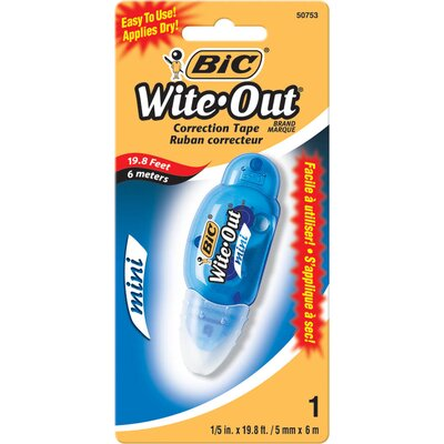 Bic Corporation Wite-Out Correction Film