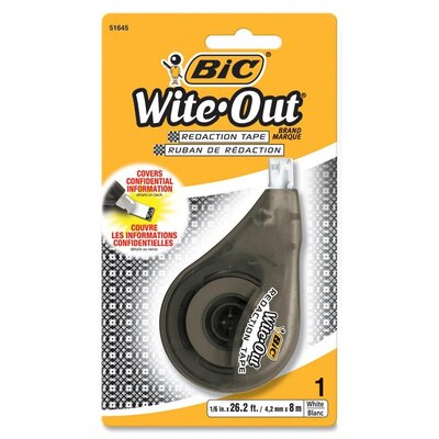 Bic Corporation Wite-Out Redaction Tape