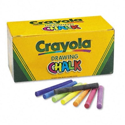 Crayola LLC Colored Drawing Chalk (144 Sticks/Set)