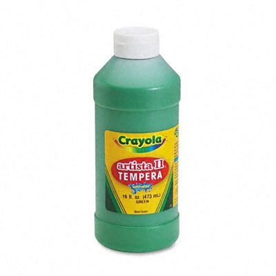 Crayola LLC Artista Ii Washable Tempera Paint, 16 Oz