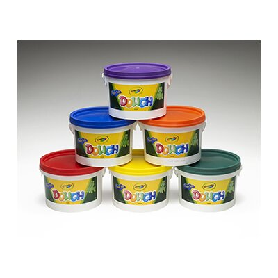 Crayola LLC Crayola Dough Tubs Red (Set of 6)
