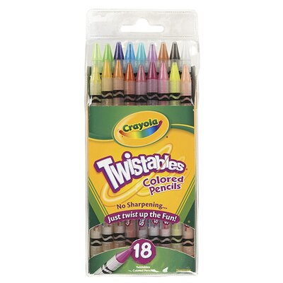 Crayola LLC Crayola Twistables 18 Colors
