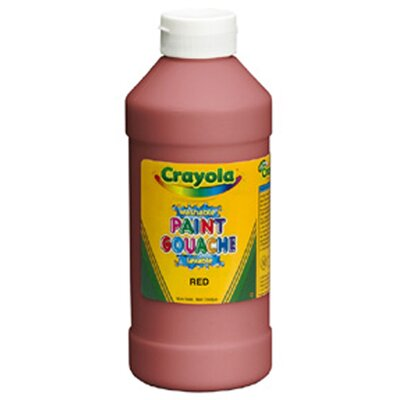 Crayola LLC Crayola Washable Paint 16 Oz Red