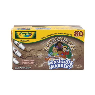 Crayola LLC Crayola Multicultural Washable