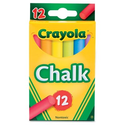 Crayola LLC Chalk (12 Sticks/Box)