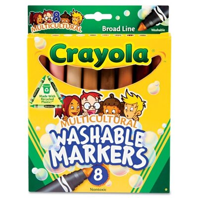 Crayola LLC Washable Conical Point Marker (8/Pack)
