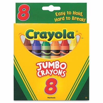 Crayola LLC So Big Large Crayons (8/Box)