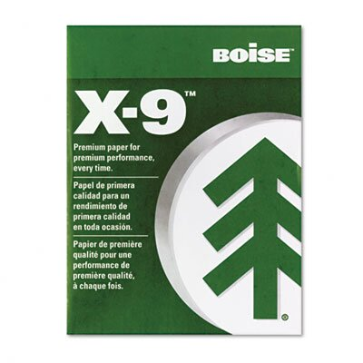 Boise® X-9 Copy Paper, 92 Brightness, 20 lb, 8-1/2 X11, 2500 Sheets/Carton