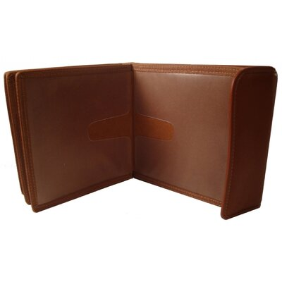 Bond Street, LTD. Leather CD / DVD Organizer Case