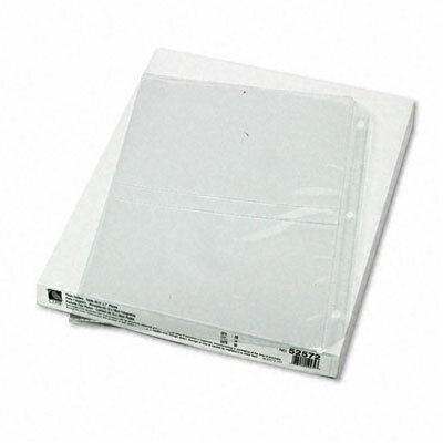 C-Line Products, Inc. Clear Photo Pages for Four 5X7 Photos with 3-Hole Punched (50/Box)