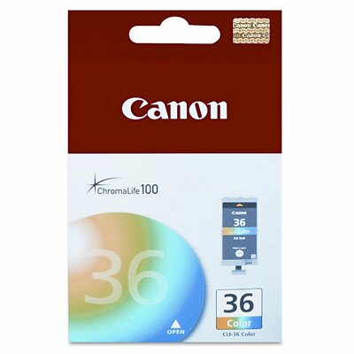 Canon Cli36 (Cli-36) Ink Tank (100 Page-Yield)