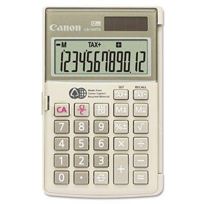 Canon 12-Digit LCD Handheld Calculator