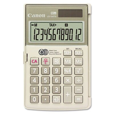 Canon 12-Digit LCD Handheld Calculator